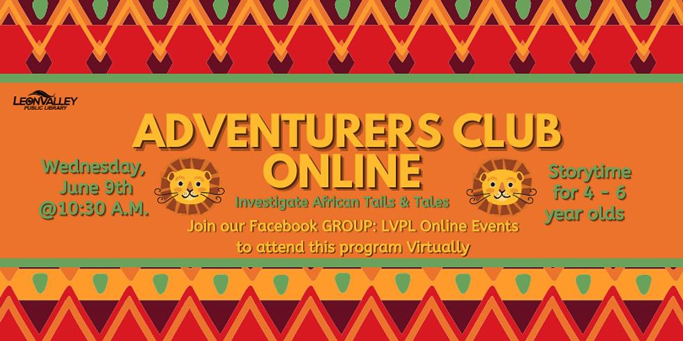 Week 1: Across Africa - Adventurer's Club