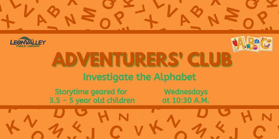 Adventurers' Club: Investigate the Alphabet