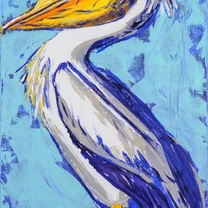 Audubon-ish Pelican