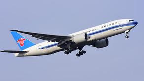 南航(01055)10月客運運力投入同比跌19.07% 其中國內升11.6%