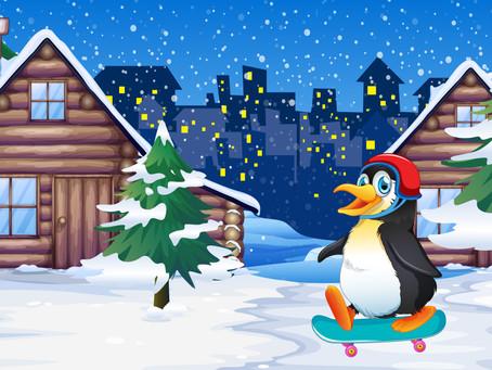 Интерактивни състезателни игри: Зима