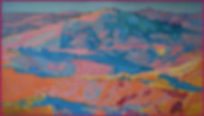 magentahillsandblueshadows34x60oilcanvas