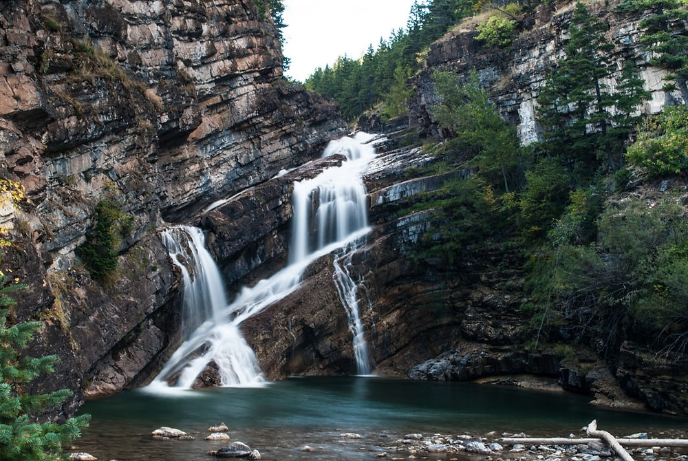 waterfalls waterton - full of knowledge no wisdom