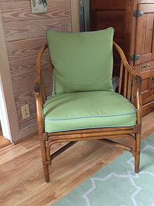 Chair Cushion Upholstered & pillow.JPG
