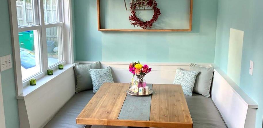 Banquette Cushions & Pillows