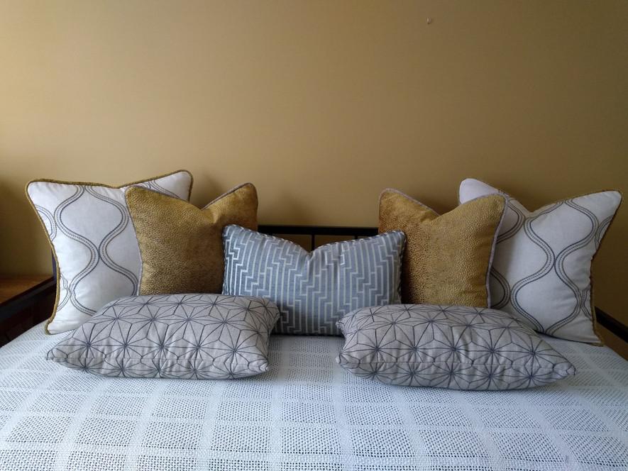 Assorted Throw Pillows