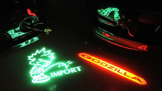 How Custom Puddle Lights Can Upgrade Your Ride