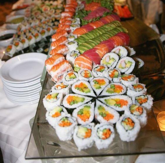 Heart Shaped Sushi !
