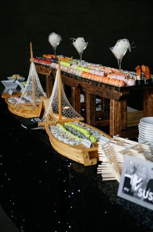 Sushi Boats Available for Rent
