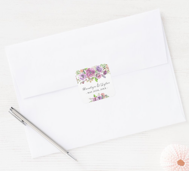 ENVELOPE/FAVOR STICKER