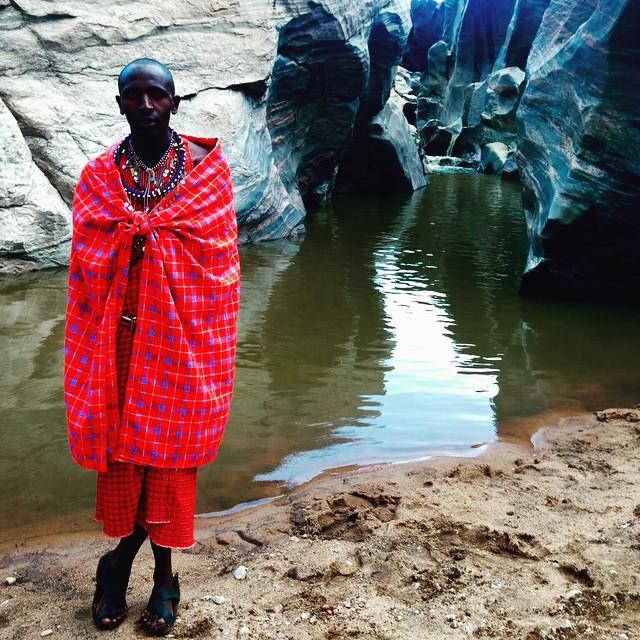 #worldtour #Kenya #Masai water hole #not