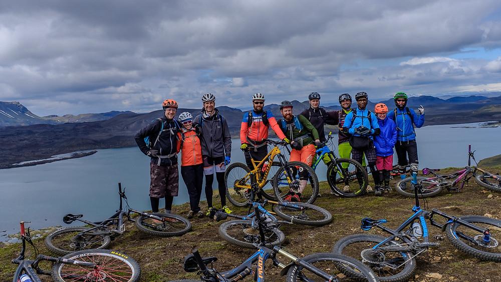 The crew: Guðmundur, Sara, Dave, Gunnar, Petur, Robert, Adrian, Eric, Mary and Tara