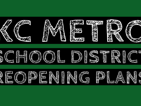 KC Metro School Plans for ReOpening this Fall