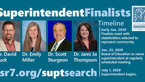 Superintendent: The Finalists