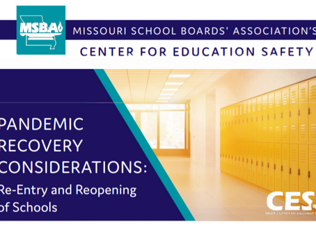 MSBA Guidance on Returning to School
