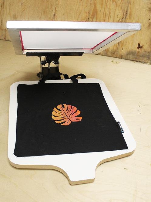 1 Station 1 Colour Screen Printing Press
