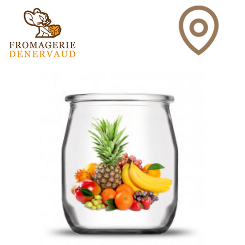Yogourt - Fruits exotiques (2.90 + consigne 0,50) - 500 g