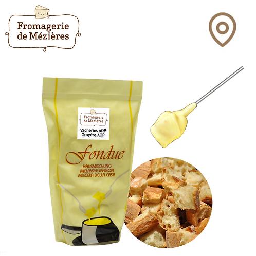 Mélange fondue moitié-moitié - 440 g