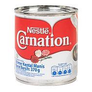 Susu Kental Manis Putih Carnation Kaleng 370 gr