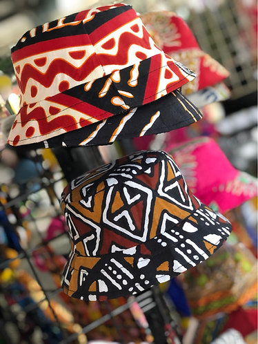 Ankara Kids Bucket Hat