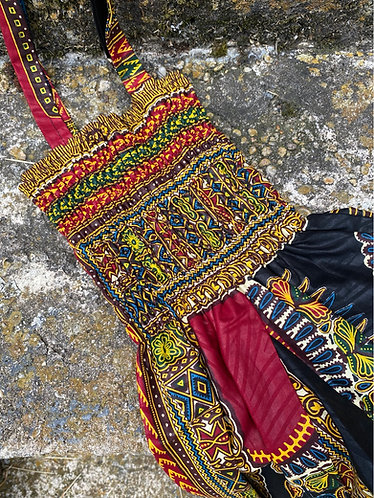 Traditional Ankara Print Jumpsuit