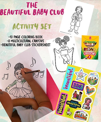 Beautiful Baby Club Activity Set