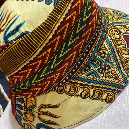 Adult Ankara Bucket Hat (Traditional Print)