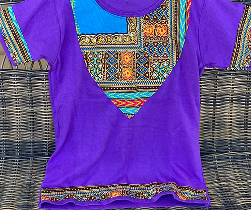 PURPLE TRADITIONAL TEE (3T/4T)