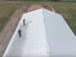 A Beginners Guide to Barn Roof Painting