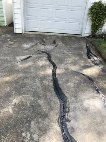 laneway crack sealing