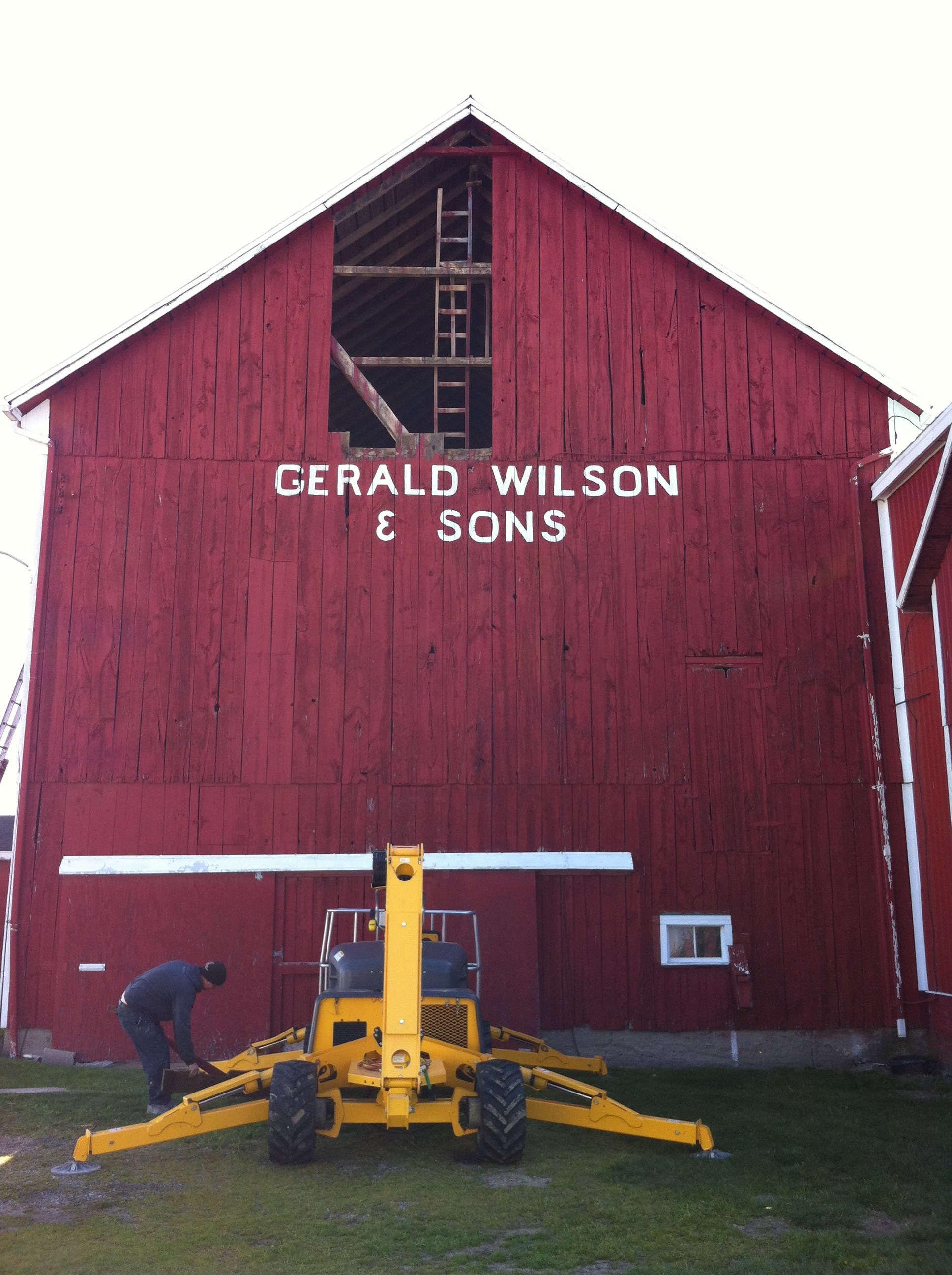 barn repair ontario