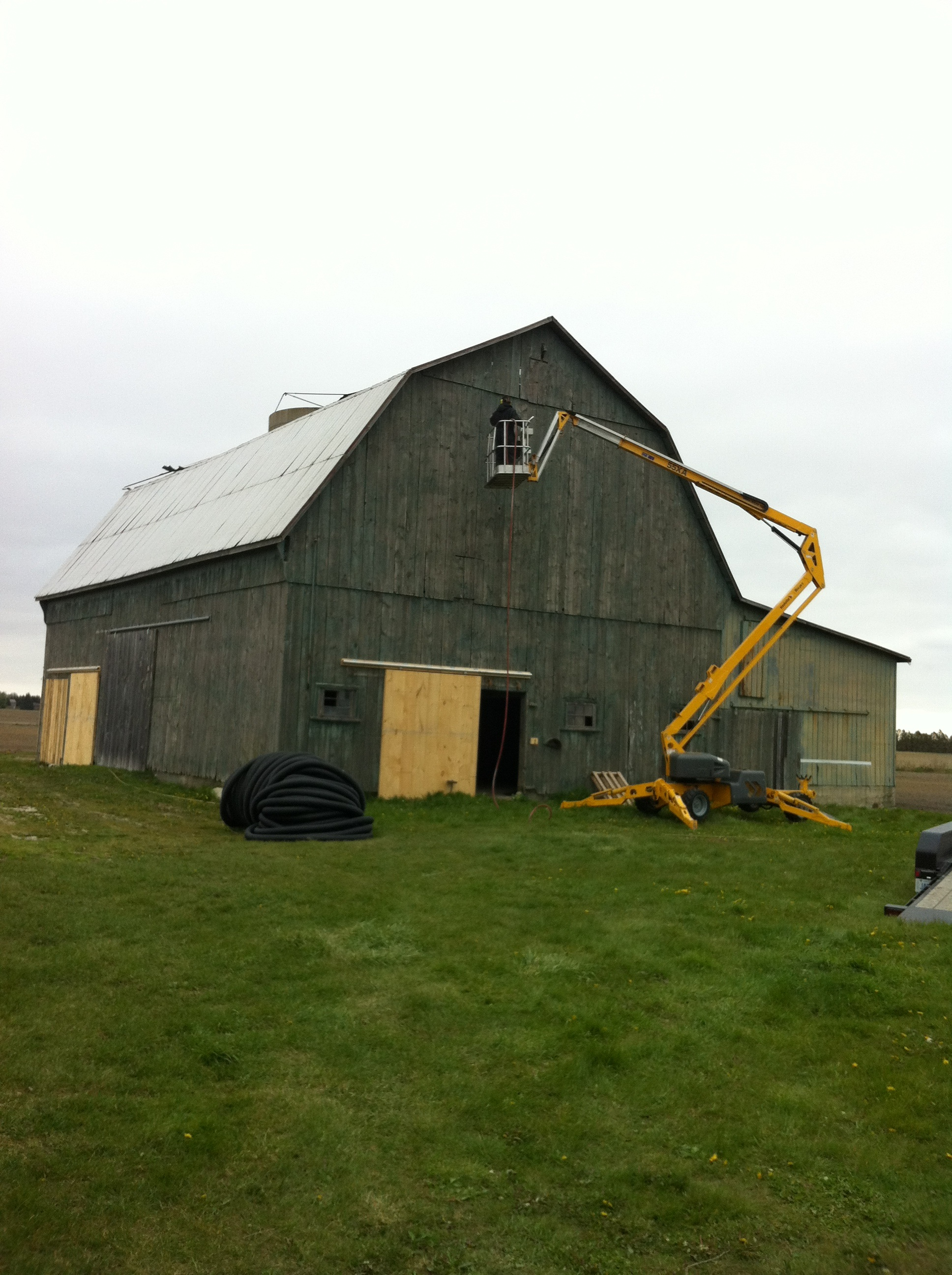 barn restoration ontario before