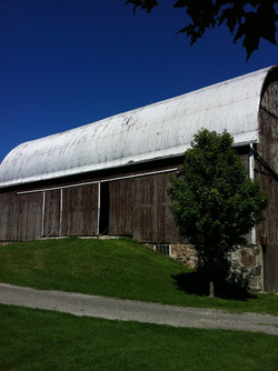 barn painting ontario before