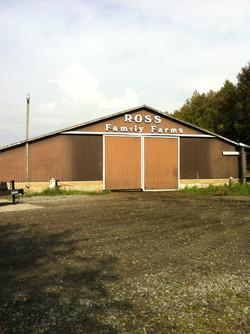 ross family farm barn painting
