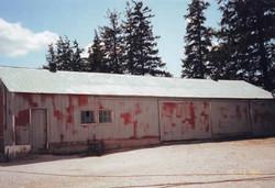 before barn painting Ontario