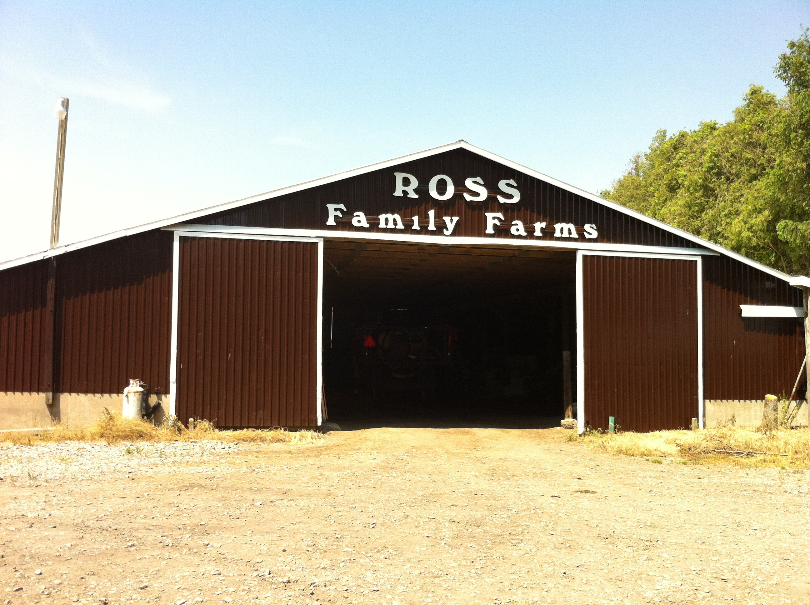 family farm barn painting ontario