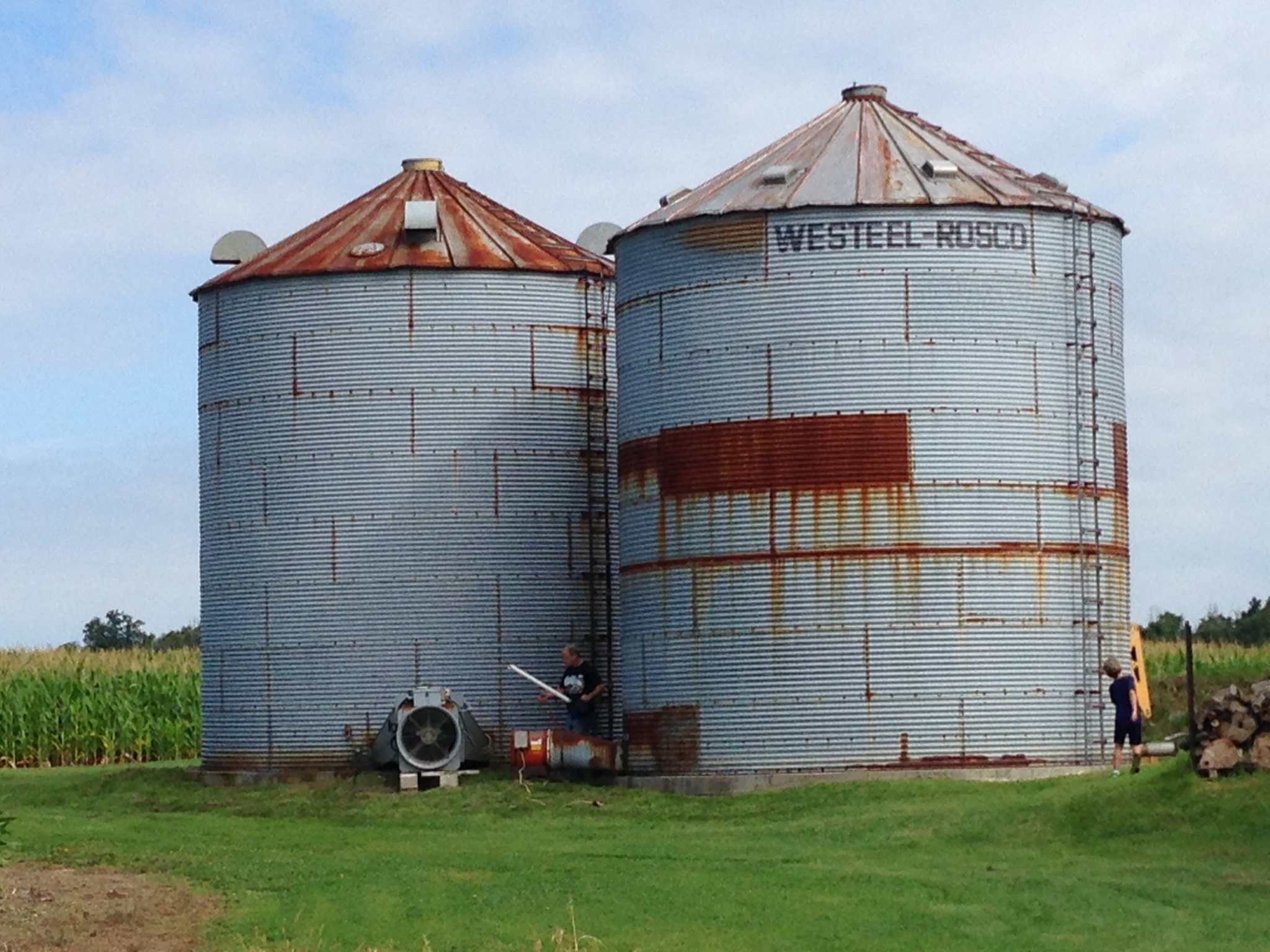 silo restoration ontario before