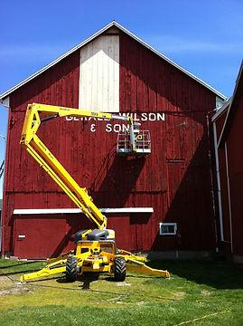 barn repair and painting