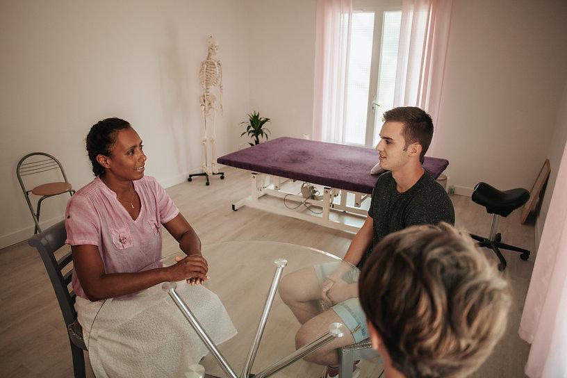 Mary-Jane Lindor ostéopathe, les patients