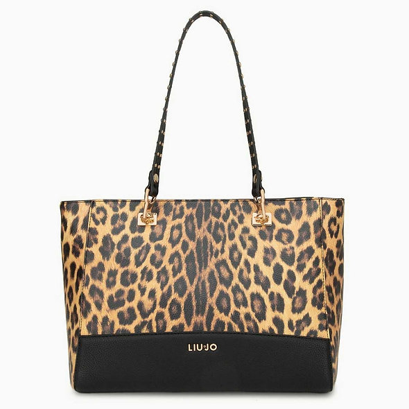 Sac à main Shopper Leopard | LIUJO