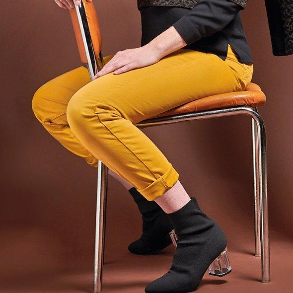 Pantalon Taily jaune  | MERIESCA