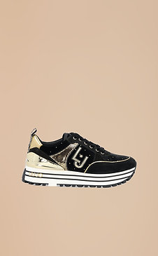 Sneakers noires en daim Liujo