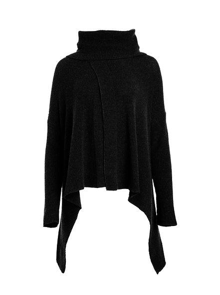 Gros pull noir | LAUREN VIDAL