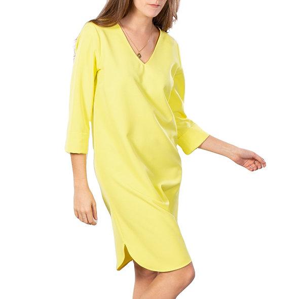 KOCCA فستان أصفر فلوري