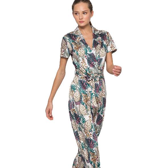 Combinaison pantalon imprimée floral KOCCA