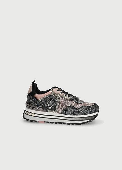 Sneakers avec glitter | LIUJO