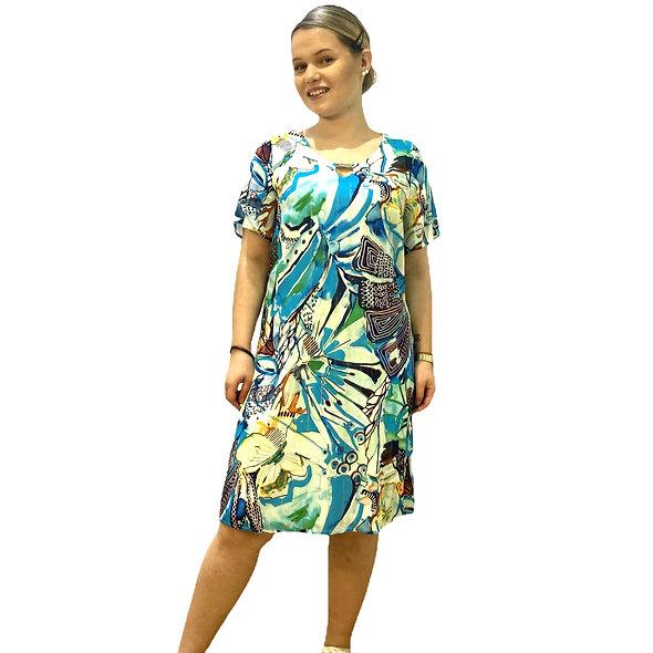 فستان مطبوع PAUSE CAFÉ