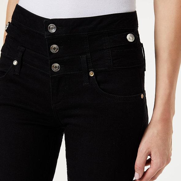 Pantalon skinny à taille haute | LIUJO