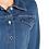Thumbnail: CHRISTINE LAURE جاكيت دنيم مطاطي أزرق