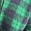 Thumbnail: Manteau TARTAN vert  | LA FÉE MARABOUTÉE